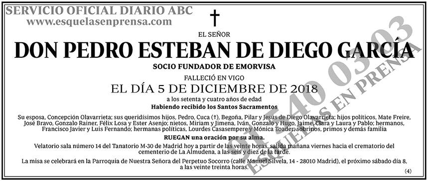 Pedro Esteban de Diego García